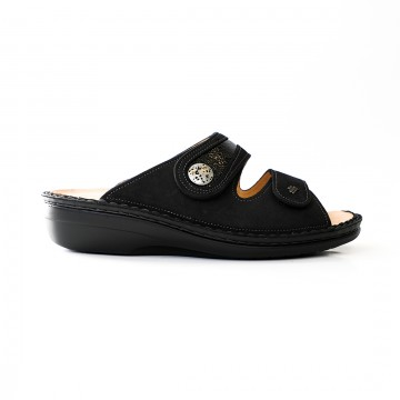 MIRA-SOFT STRAP SLIDE - BLACK