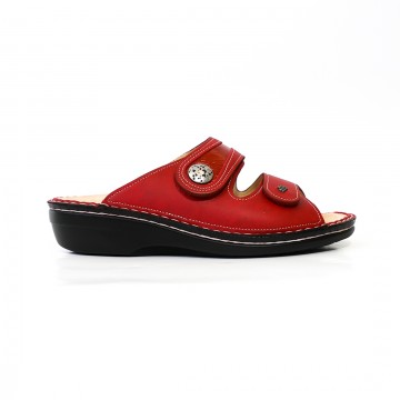 MIRA-SOFT STRAP SLIDE - RED
